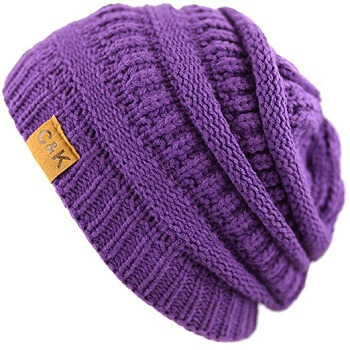The Hat Depot Exclusive Unisex Chunky Beanie