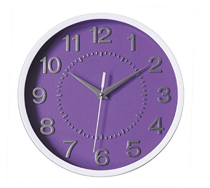 Non-ticking Decorative Wall Clock